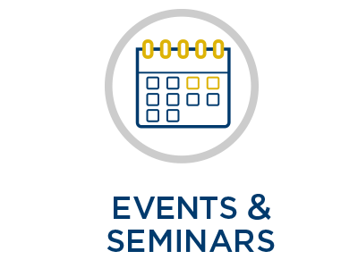 EEI homepage graphic for events and seminars
