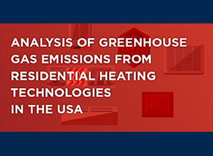 Analysis of Greenhouse Gas Emissions from Residential Heating Technologies